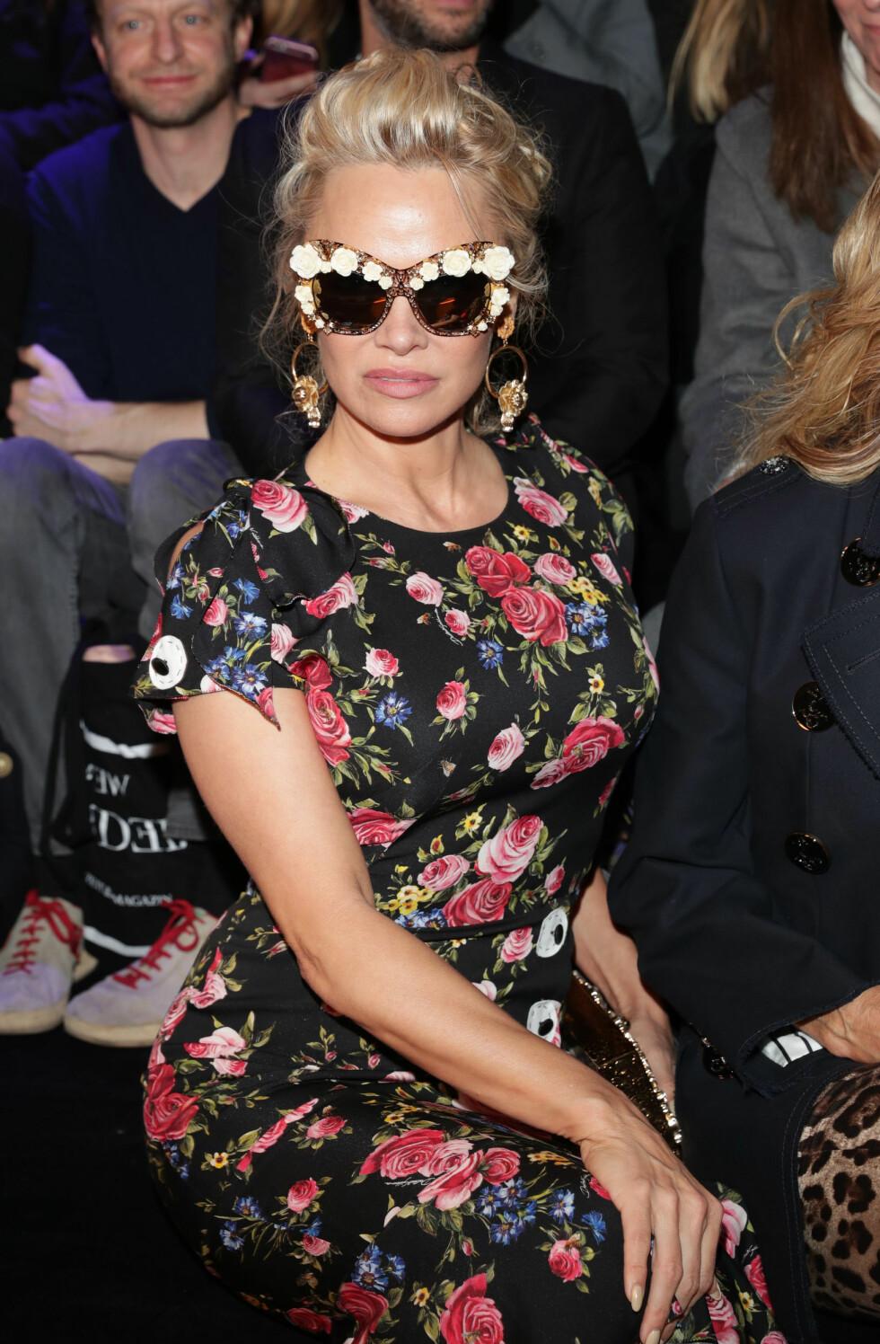 JULI: «Baywatch»-stjernen Pamela Anderson fyller 50 år 1. juli. Foto:  Foto: NTB Scanpix