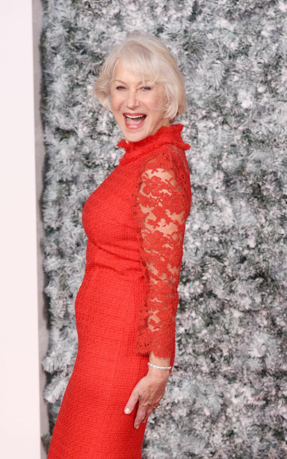 HELEN MIRREN: Skuespilleren er 71 år. Foto:  Foto: NTB Scanpix