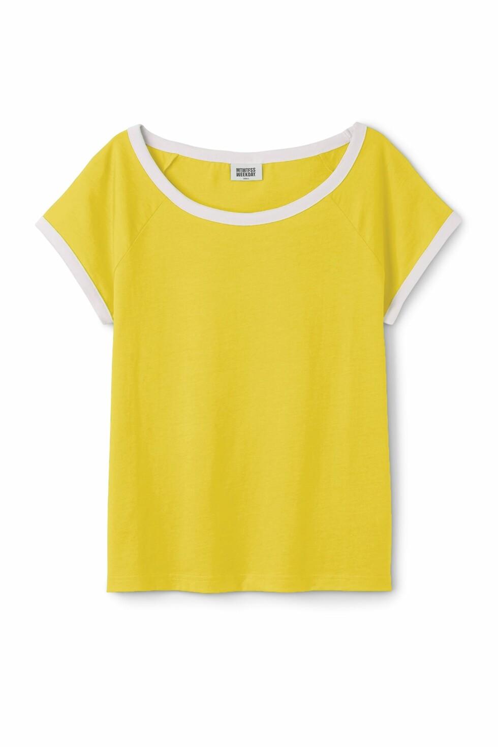 <strong>T-skjorte fra Weekday | kr 150 | http:</strong>//apprl.com/en/pd/4Krq/