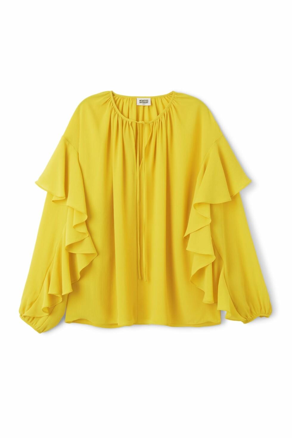 <strong>Bluse fra Weekday | kr 450 | http:</strong>//apprl.com/en/pd/4Krp/