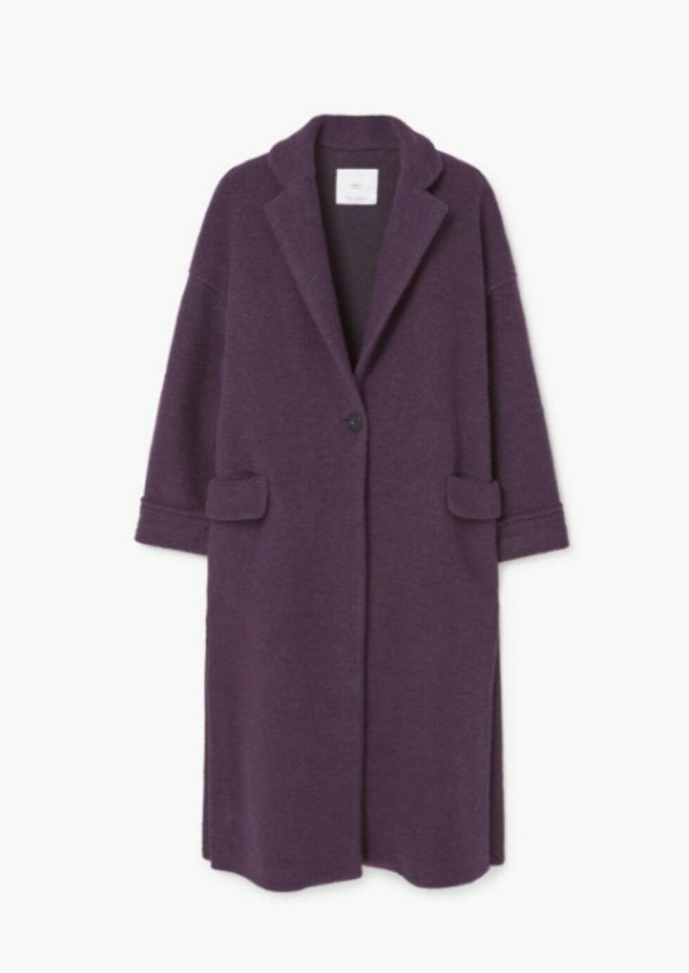 Kåpe fra Mango   kr 599   http://shop.mango.com/NO-en/p1/woman/clothing/coats/coats/textured-wool-blend-coat?id=81030230_65&n=1&s=mss_she&ts=1489999763383