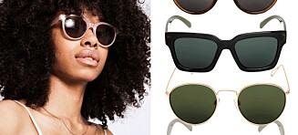 Her er de første Weekday-solbrillene