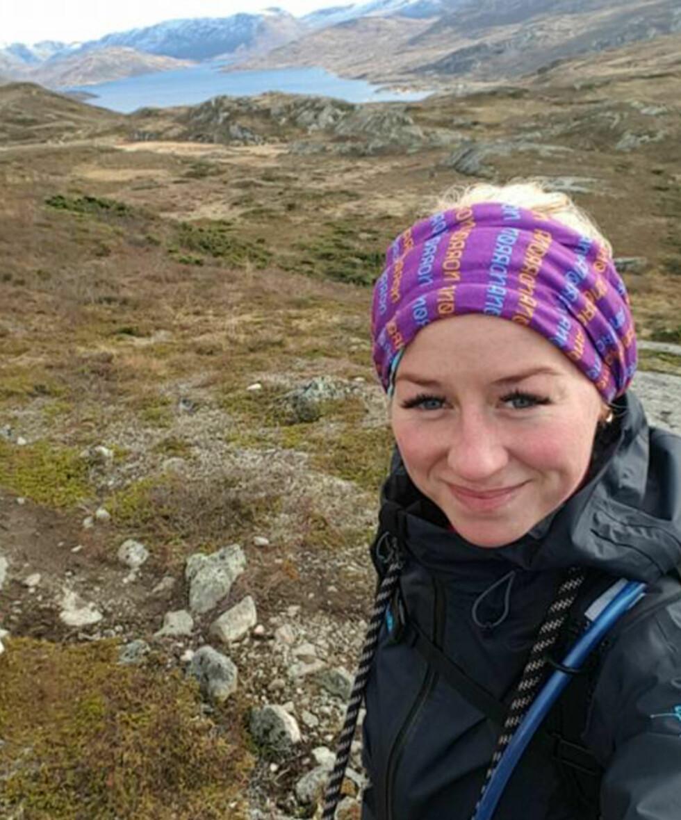 MINDRE URO: Catharina fikk ADHD-diagnose som barn. I dag er hun medisinfri, og mener treningen er årsaken. Foto: Foto: Privat