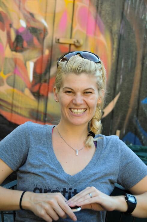 YOGA BLE REDNINGEN: For Caroline ble yogaen en vei ut av spiseforstyrrelsene. Fram til da hadde trening handlet om å straffe seg selv. Foto: Foto: Christine Hanisch