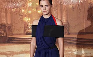 Ser du hva kjolen til Emma Watson er laget av?