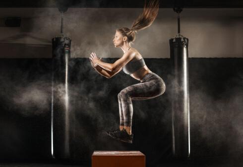 VARIASJON ER VIKTIG: Kombiner gjerne tunge styrkeøvelser med spensttrening.  Foto: Scanpix