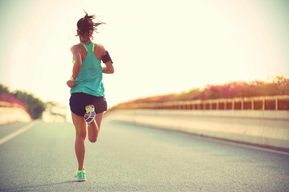 <strong>VIKTIG MED TEKNIKK:</strong> Løpeteknikk handler ikke bare om løpssteget, men hvordan du holder hele kroppen.  Foto: Scanpix