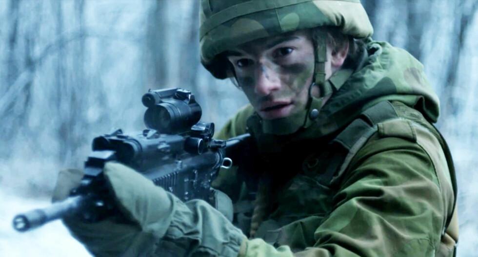 ELVEN: I den nye thriller-serien på TV3 spiller Thomas Hayes rekrutt August Wildhagen. Foto:  Foto: TV3