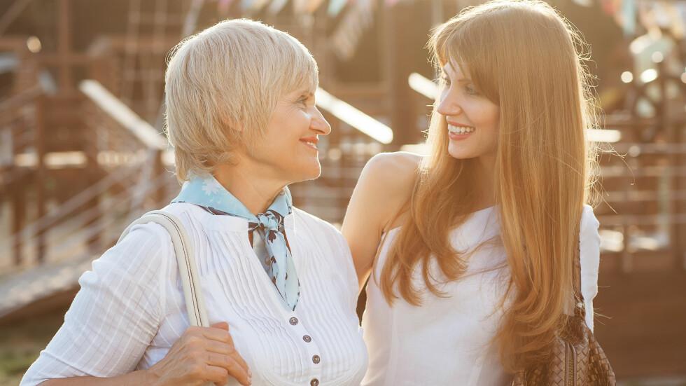 <strong>FAMILIE:</strong> Har du noe uoppgjort med familien din? Et oppgjør med foreldrene dine kan styrke forholdet deres, råder eksperter. Foto: Shutterstock / Rock and Wasp