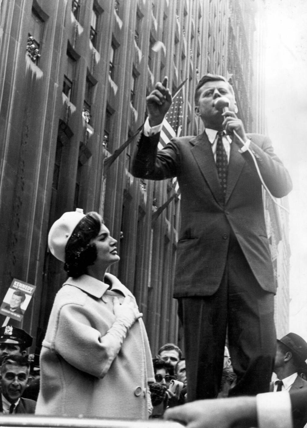1960: Året John F. Kennedy ble valgt som president. Foto: Zuma press