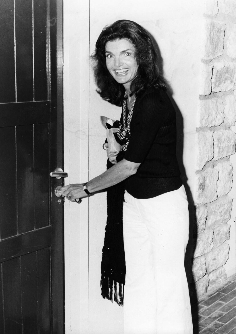 1975: Jackie Kennedy Onassis. Foto: Zuma press