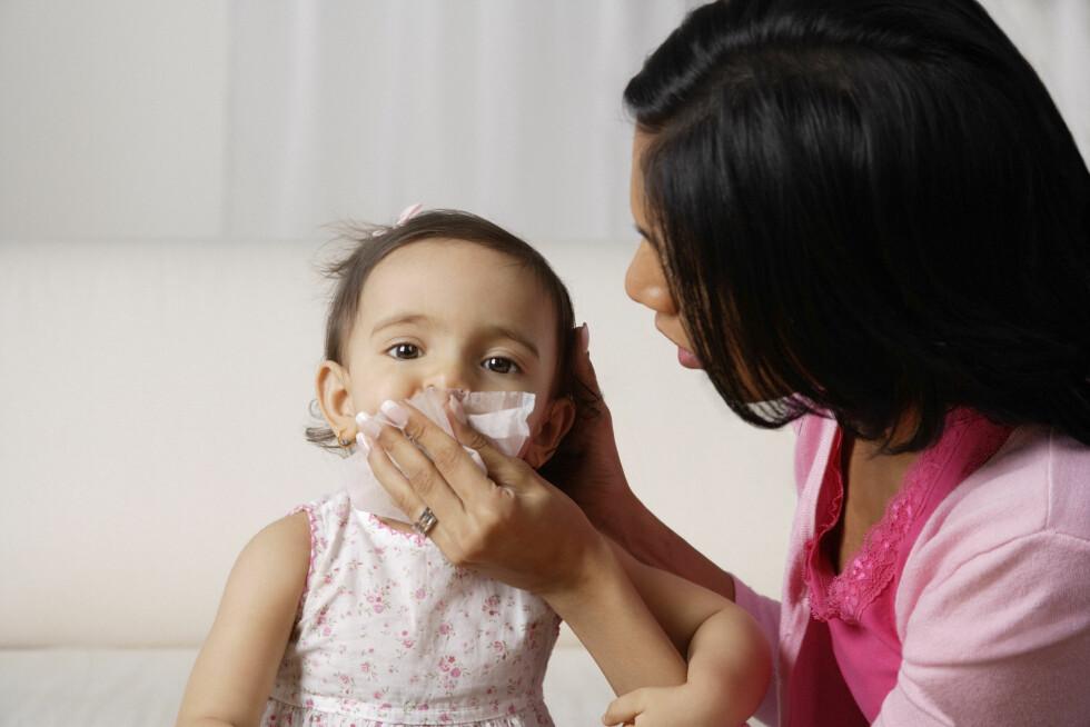 <strong>SMÅBARNSFORELDRE:</strong> Har du barn i barnehagen er du ekstra utsatt for vinterens mange sykdommer. Foto: (c) Picture India/Corbis/All Over Press