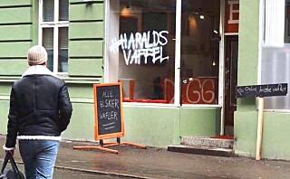«Haralds Vaffel» ønsker å ta opp kampen mot den belgiske vaffelen internasjonalt