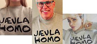 - Planen var å rive i stykker «Jævla homo» som skjellsord