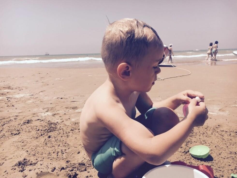 BARNEAUTISME: Man antar at cirka én prosent av alle barn får en diagnose innen autismespekteret.  Foto: Privat