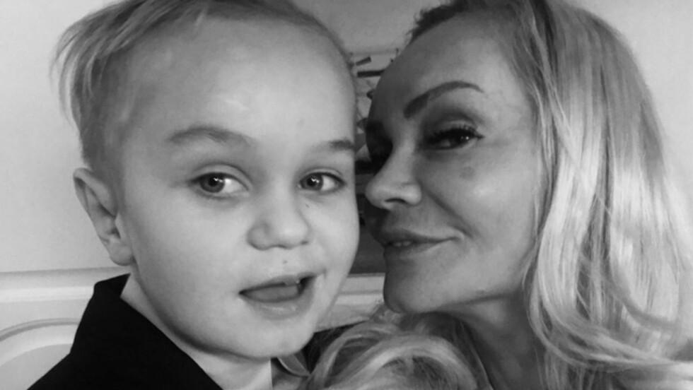 BARNEAUTISME: Ved treårsalder kom BUP inn i bildet, og et års tid senere fikk Felix diagnosen barneautisme. Foto: Privat