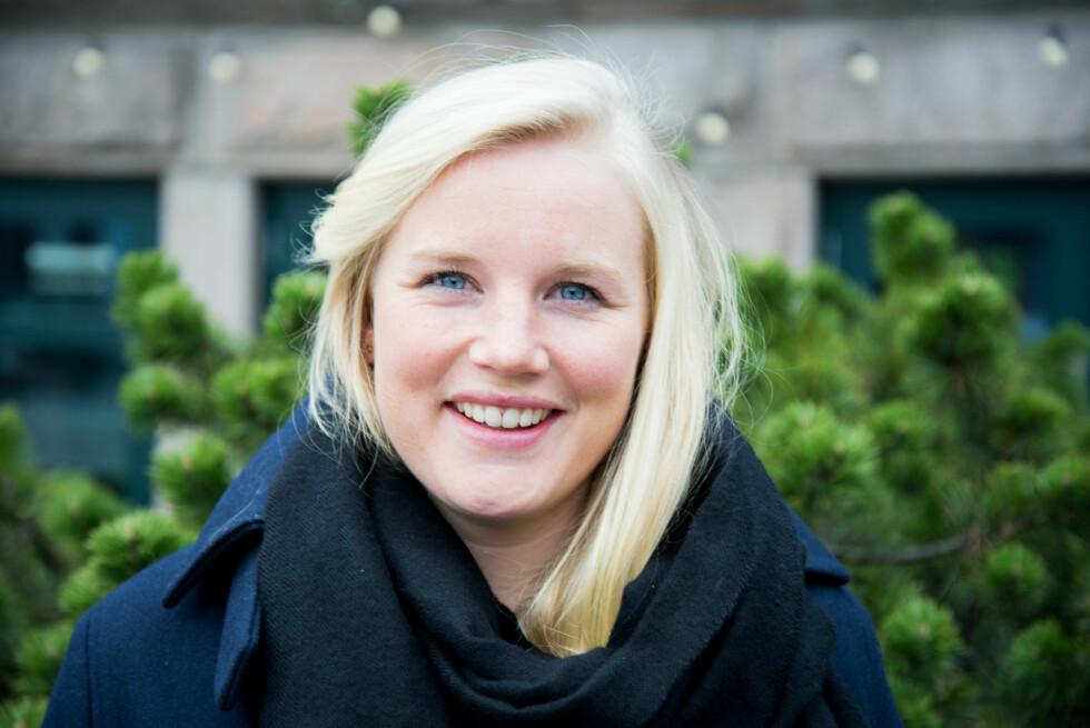 EKSTREMTRENING FOR MORO SKYLD: Ingrid Aasaaren (28) skal delta i Norseman Xtreme Triathlon i august. Et løp som å være kjent for å være verdens tøffeste fulldistanse triatlon. Foto: Hanne Bernhardsen Nordvåg