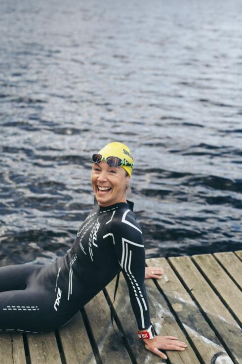 ULTRAPOPULÆRT: Kari Lingsom vant Norseman i fjor, og registerer at ekstremløp stadig blir mer populært. Foto: Foto: Henriette Tronrud