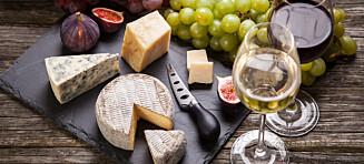 Skal du ha ost og vin i helgen? Da bør du unngå denne kombinasjonen