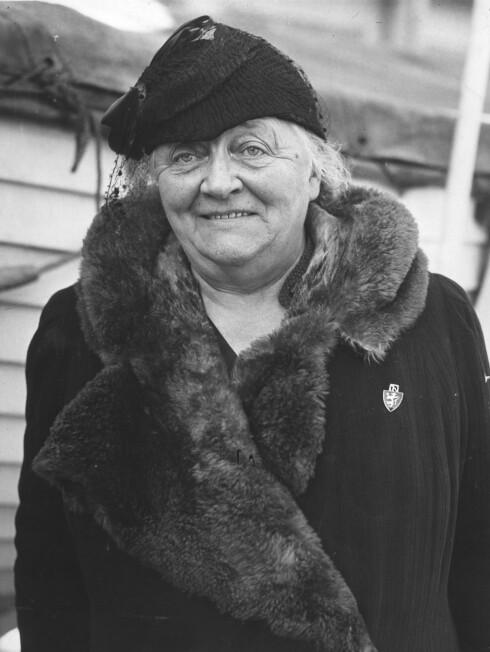 Betzy Kjelsberg. Foto: NTB scanpix