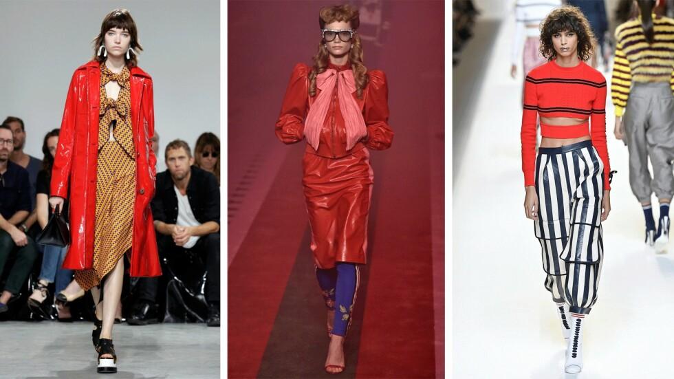 <strong>PÅ CATWALKEN:</strong> Proenza Schouer, Gucci og Fendi. Foto: Scanpix