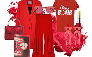 Frisk opp antrekket ditt med den deilige rødfargen