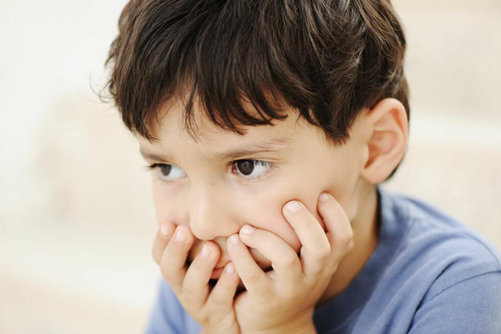 KUN HOS BARN: Forskjellen i hjernestørrelse fantes kun hos barn, ikke hos voksne, som kan bety at utviklingen går litt langsommere. Foto: Shutterstock / ESB Professional