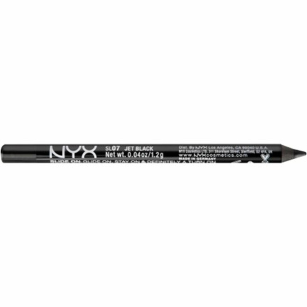 Eyeliner fra NYX via NordicFeel.no | kr 75 | https://track.adtraction.com/t/t?a=997224614&as=1115634940&t=2&tk=1&url=https://www.nordicfeel.no/make-up/oeyne/eyeliner/nyx-slide-on-pencil-31730