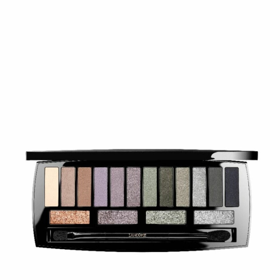 Øyeskygge fra Lancome via Kicks.no | kr 590 | http://www.kicks.no/lancme-b670/makeup/yne/yenskygge-c126/audacity-in-london-eyeshadow-palette-p79616
