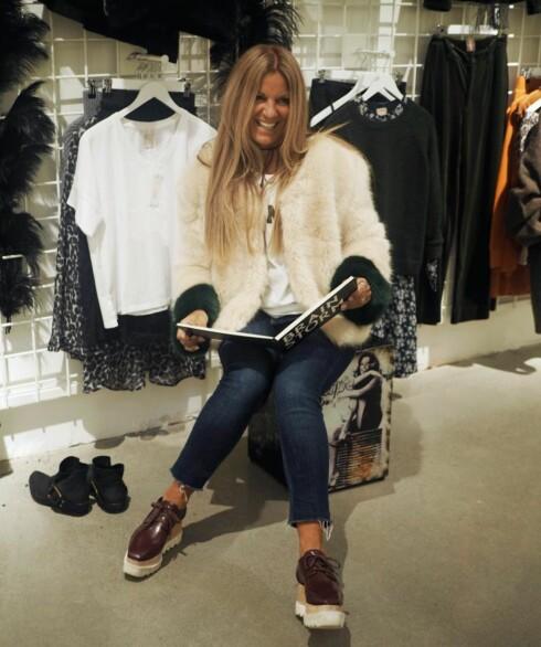 LINE VARNER: Designeren bidrar med klær til UngNorge flere ganger iløpet av ett år Foto:   Privat