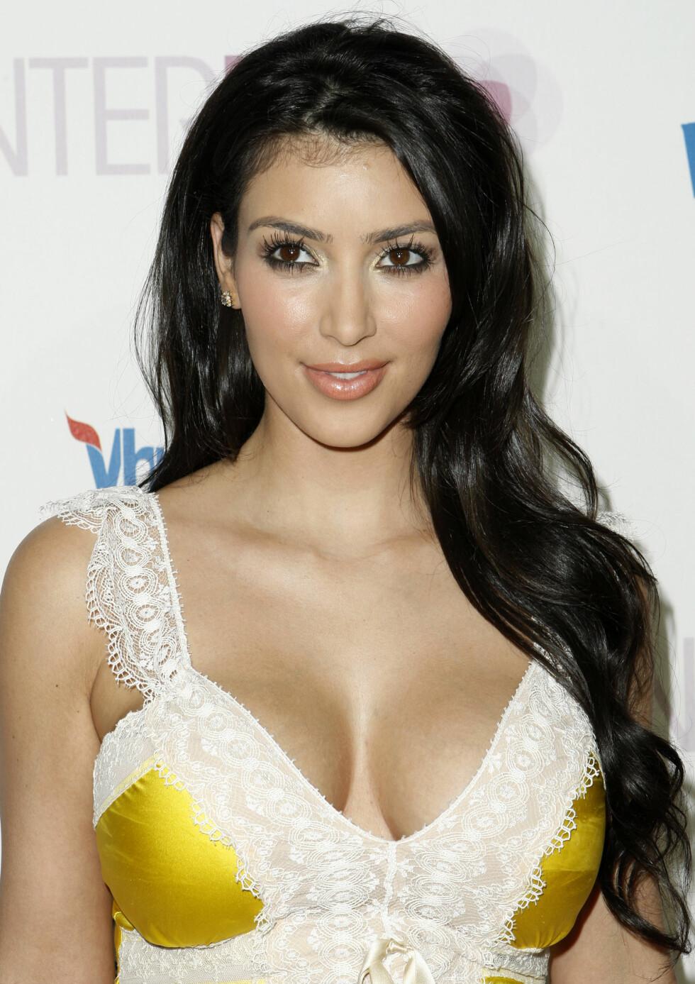 2008: Kim Kardashian  Foto: AP