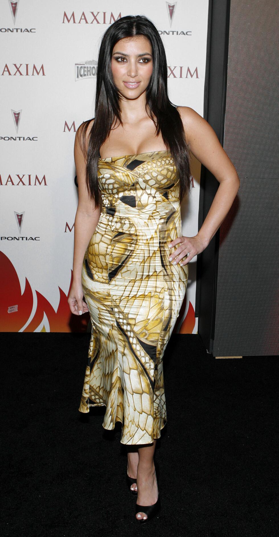 2007: Kim Kardashian  Foto: AP