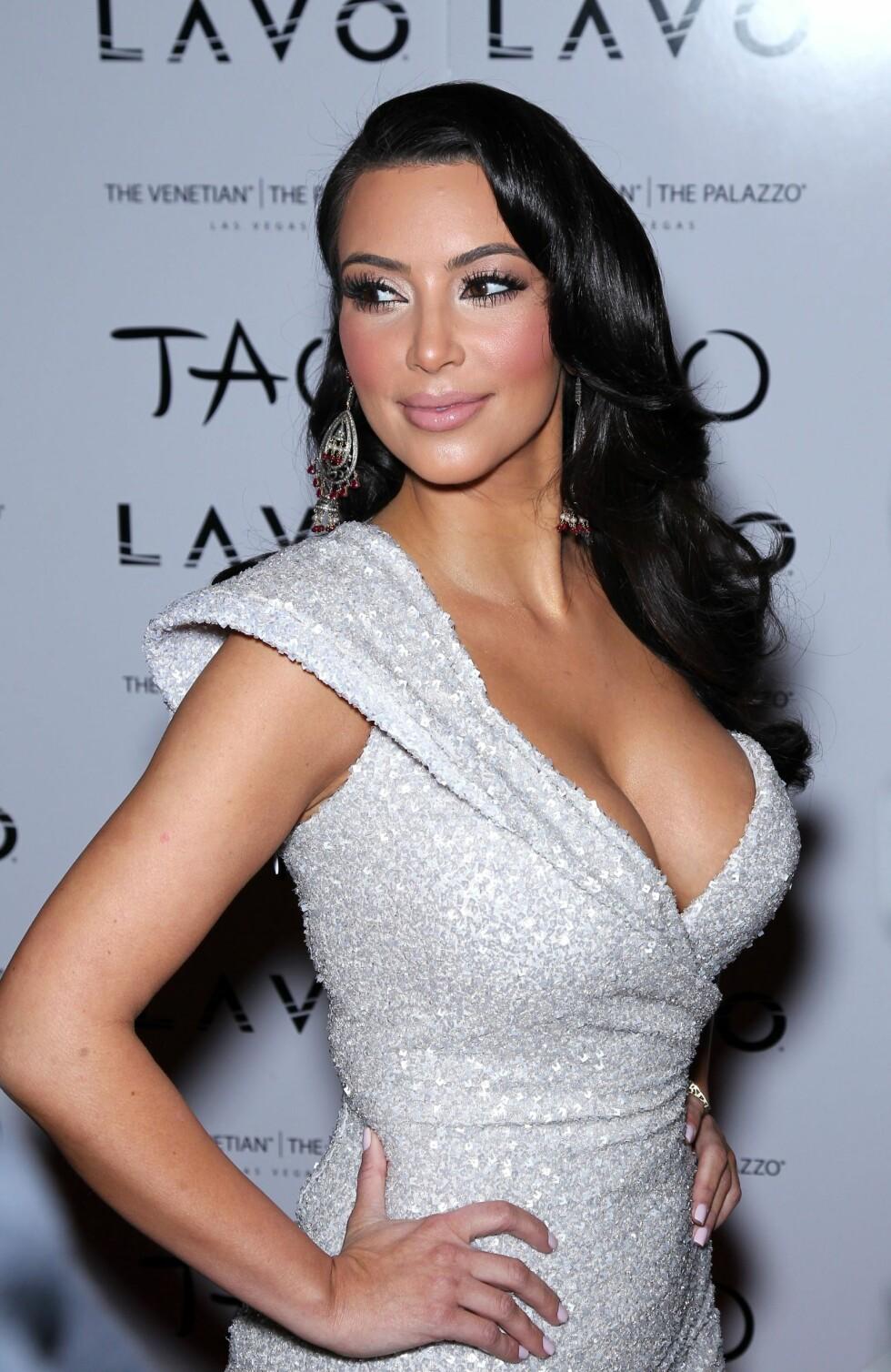 2010: Kim Kardashian  Foto: wenn.com