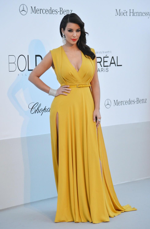 2012: Kim Kardashian  Foto: Afp