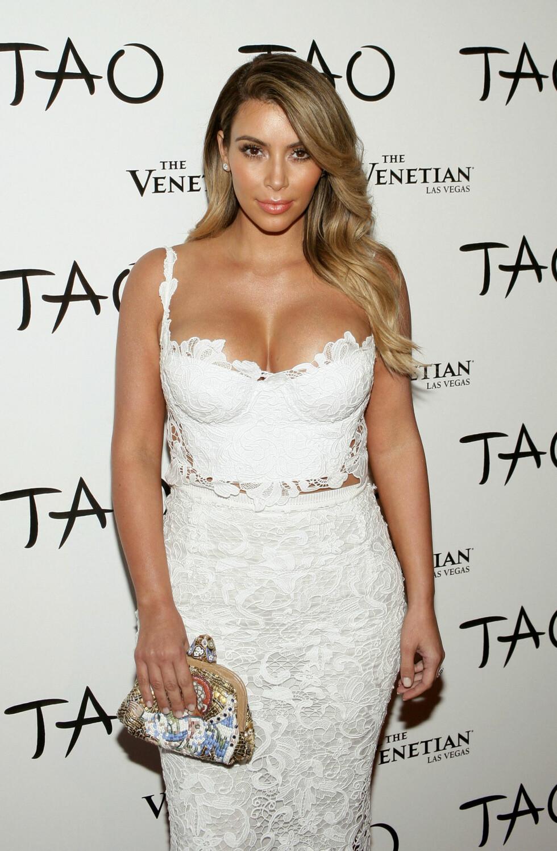 2013: Kim Kardashian  Foto: Pa Photos