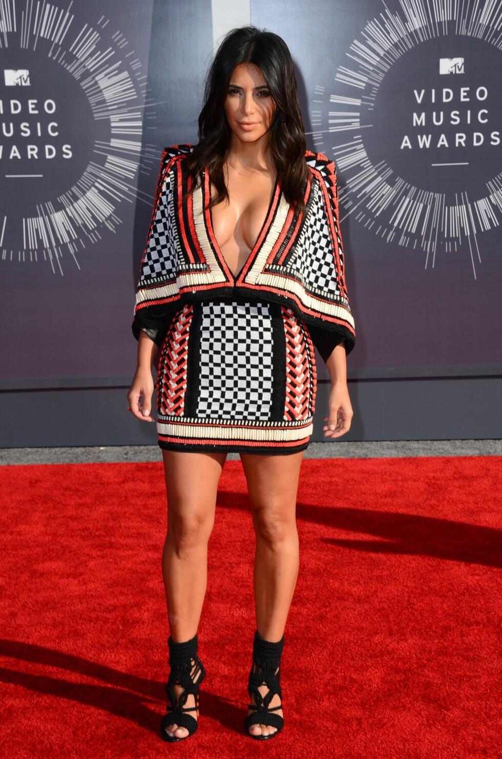 2014: Kim Kardashian  Foto: INVISION