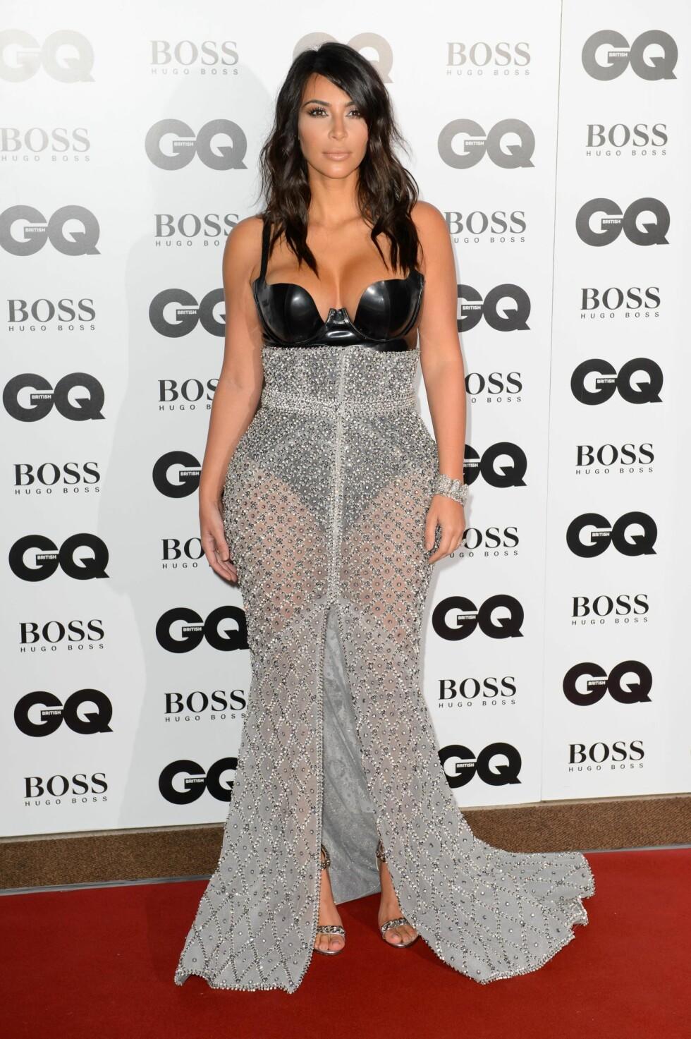 2014: Kim Kardashian  Foto: Ap