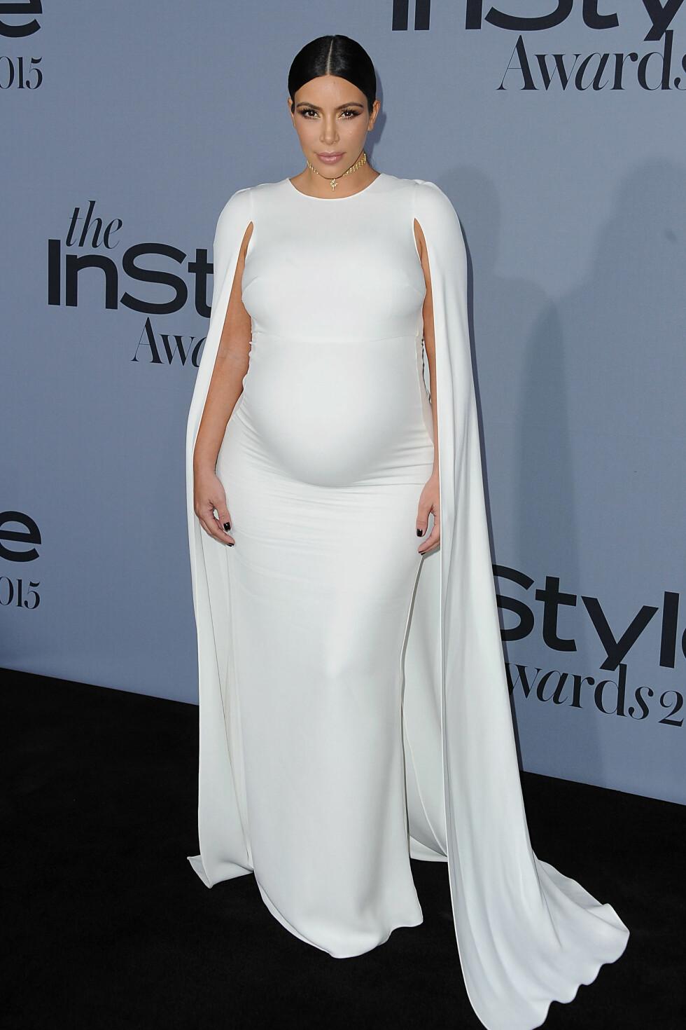 2015: Kim Kardashian  Foto: Splash News