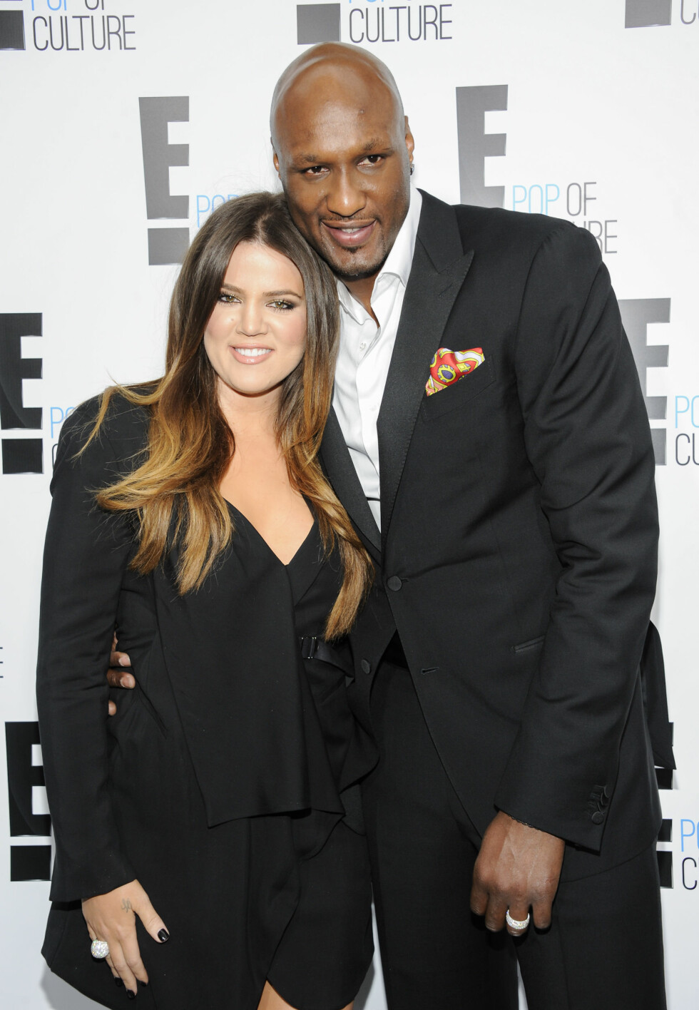 2012: Khloé Kardashian og Lamar Odom Foto: Ap