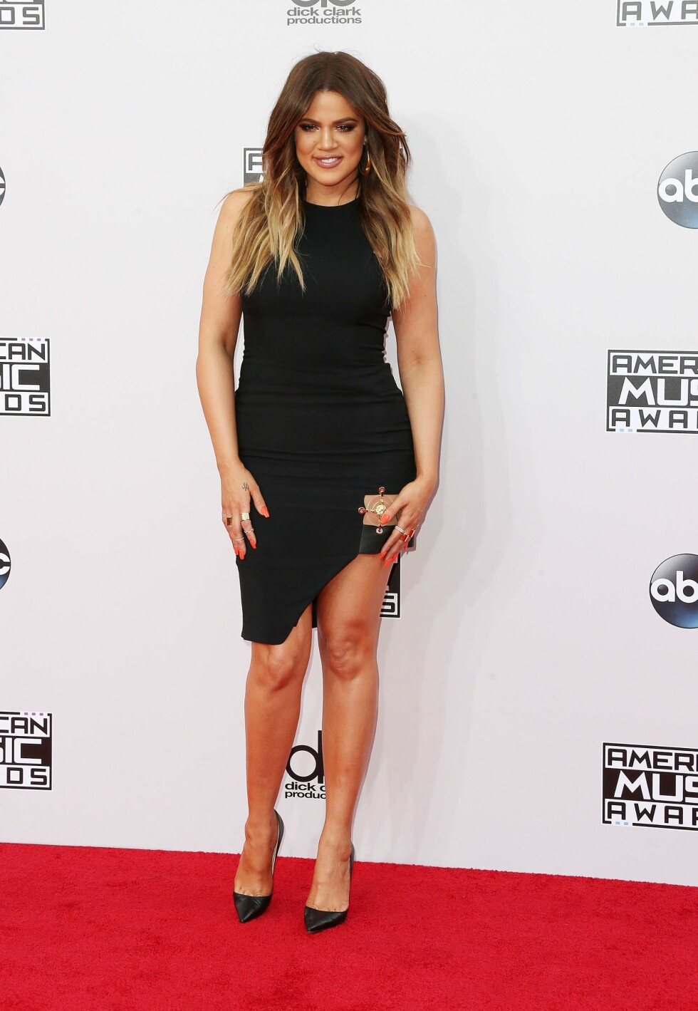 2014: Khloé Kardashian Foto: Afp