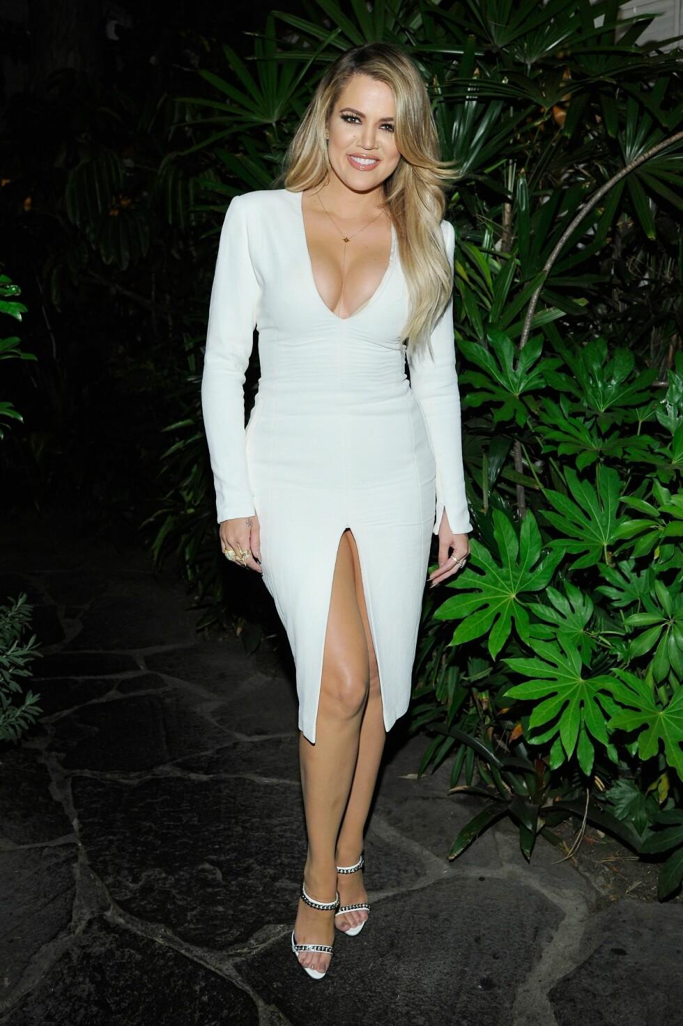 2015: Khloé Kardashian Foto: Afp