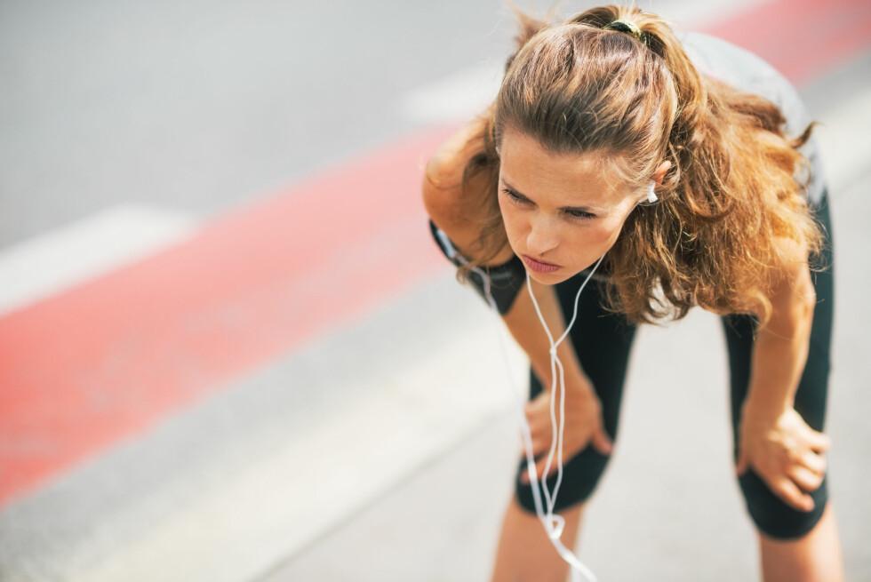 ALKOHOL OG TRENING: Er du sliten fra gårsdagens fest, men tenker det blir bedre om du kommer deg på trening? Vel, ifølge ekspertene vil dette dessverre ikke hjelpe mot fyllesyken.  Foto: Shutterstock / Alliance
