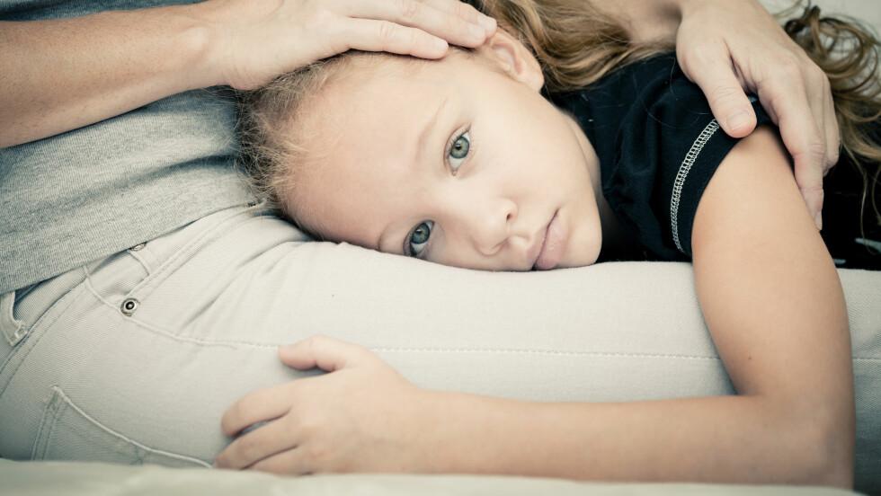 ØKONOMI: Slik forklarer du barna dine at økonomien ikke er på topp.  Foto: Shutterstock / altanaka