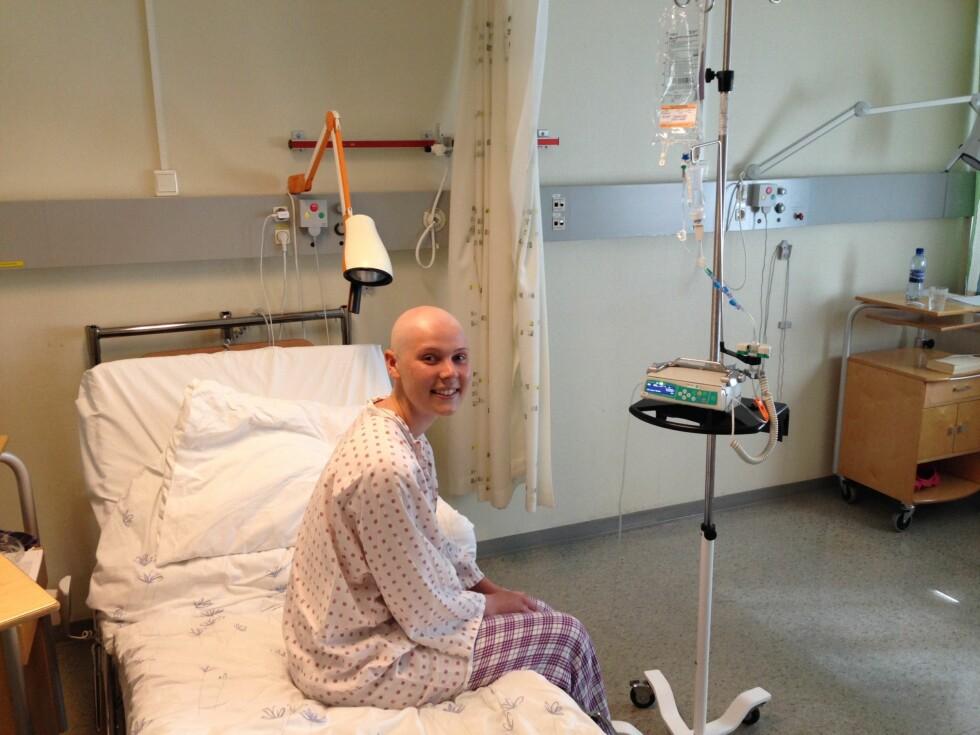 LIVMORHALSKREFT: Dorthe fikk livmorhalskreft i en alder av 22 år. Selv om hun var forberedt på å få en slik beskjed, kom det som et sjokk. Foto: Privat