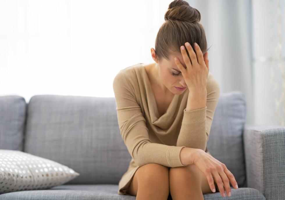 STRESS: Psykisk stress er en av tingene som trigge leamus.  Foto: Alliance - Fotolia