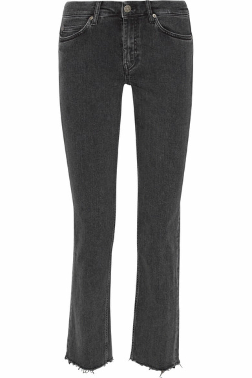 Jeans fra M.I.H Jeans via Net-a-porter.com | kr 2648 | https://www.net-a-porter.com/no/en/product/786239/m_i_h_jeans/daily-cropped-high-rise-straight-leg-jeans