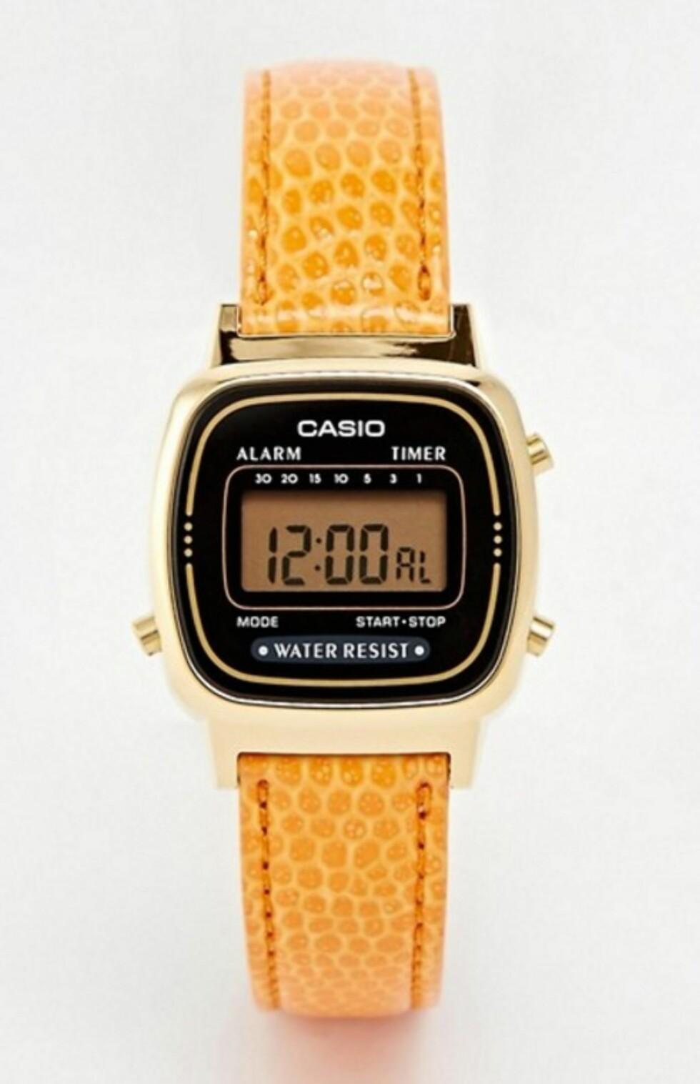 Klokke fra Casio via Asos.com | kr 454 | http://ninjalink.com/s/V01hrTM7zI