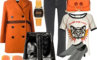 Sprit opp antrekket med oransje