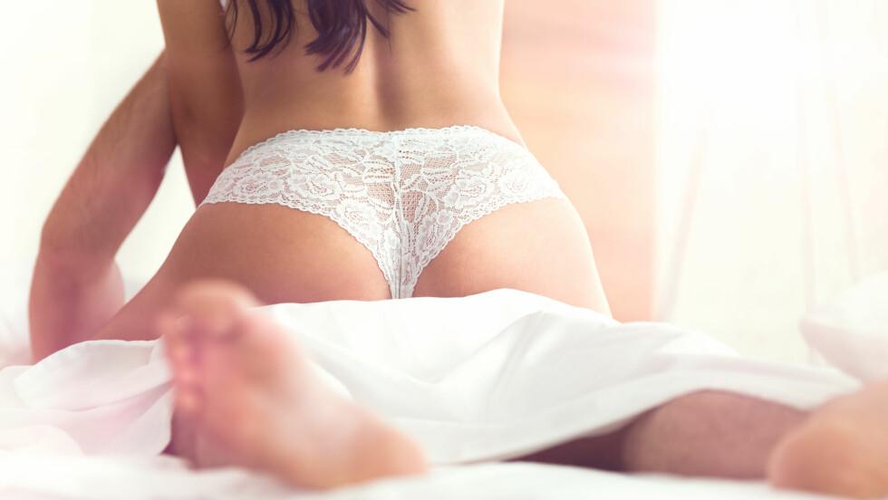 LØS NEDENTIL: Noen gang lurt på om det er mulig å bli løs nedentil av for mye sex? Vel, du kan slappe helt av! Foto: Shutterstock / Lucky Business