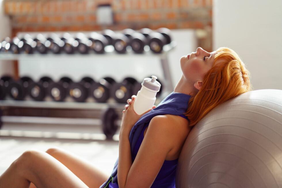 ENERGIUNDERSKUDD: Har du spist eller drukket for lite? Det kan være årsaken til svimmelheten. Foto: Shutterstock / racorn